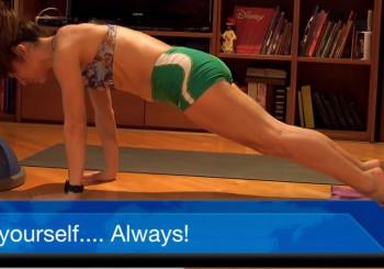 Shots of my body training