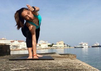 Yoga for runners in Spetses